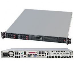 Supermicro SuperServer SYS-1017C-TF, 1U, NO CPU, RAM & HDD