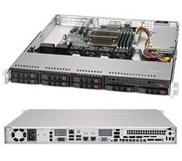 Supermicro Superserver SYS-1019S-MC0T, Tower, No CPU, No RAM, No HDD