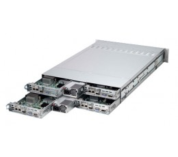 Iron EVO-2021E1-SM, 2U 4 Node EVO:RAIL Optimized Appliance with RJ45 (SYS-2027TR-VRL001)