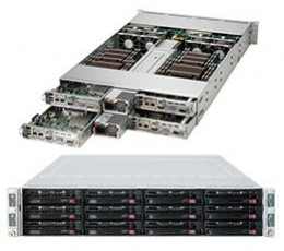 Supermicro SuperServer 6027TR-HTQRF