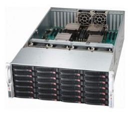 Supermicro SuperChassis 848E16-R1K62BStorage JBOD 4U Chassis, No HDD