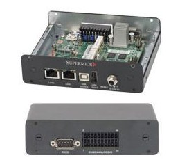 Supermicro IoT Gateway System  SYS-E100-8Q-AW, Mini-ITX, Single Intel Quark SoC