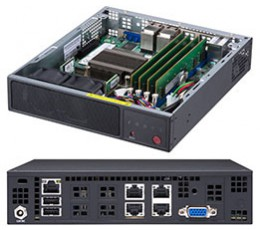 Supermicro SuperServer SYS-E200-9A, Mini-1U , System-on-Chip (SOC)