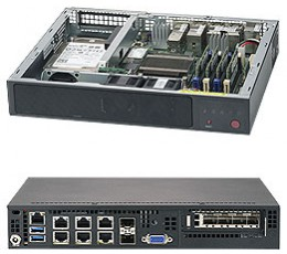 Supermicro SuperServer SYS-E300-9A, Mini-1U ,  System-on-Chip (SOC)