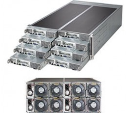 Supermicro SuperServer F618R3-FT, 4U Barebone System, No CPU, No RAM, No HDD