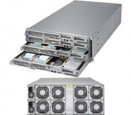Supermicro SuperServer F618H6-FT+ 4U Barebone System, No CPU, No RAM, No HDD