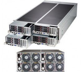 Supermicro SuperStorage SYS-F628R2-FC0+, 4U Barebone System, No CPU, No RAM, No HDD