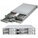 Supermicro A+ Server 2021TM-BIBXRF,2U Barebone System, No CPU, No RAM, No HDD