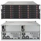 Supermicro SuperServer 6048R-DE2CR24L , 4U completely assembled systems only (including 4 CPU, 4 DIMMs, 1 HDD)