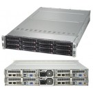 Supermicro SuperServer SYS-6028TP-HC1R-SIOM, 2U TwinPro2 Barebone System, No CPU, No RAM, No HDD