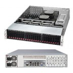 Supermicro SuperServer 2028R-E1CR24L, 2U Barebone System, No CPU, No RAM, No HDD