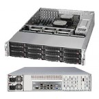 Supermicro SuperStorage 6027R-E1CR12N, 2U Barebone System, No CPU, No RAM, No HDD