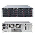 Supermicro SuperStorage 6038R-E1CR16N, 3U Barebone System, No CPU, No RAM, No HDD
