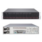 Supermicro SuperStorage Server 2027R-AR24NV, 2U Barebone System, No CPU, No RAM, No HDD