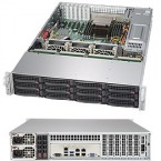 Supermicro SuperStorage Server  5028R-E1CR12L, 2U Barebone System, No CPU, No RAM, No HDD