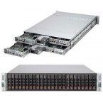 Supermicro SuperServer 2027TR-H70FRF, 2U Twin Square Barebone System, No CPU, No RAM, No HDD