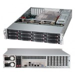 Supermicro SuperChassis CSE-826BA-R1K28LPB Storage JBOD 2U Chassis, No HDD