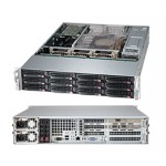 Supermicro SuperChassis CSE-826BA-R1K28WB Storage JBOD 2U Chassis, No HDD