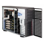 Supermicro SuperChassis CSE-747TG-R1400B-SQ 4U Tower/ Rachmount chassis, No HDD