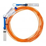 Mellanox Active Fiber Cable, Ethernet, 40GbE, 40Gb/s, QSFP, 3 meters