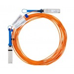 Mellanox Active Fiber Cable, Ethernet, 40GbE, 40Gb/s, QSFP, 5 meters