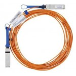 Mellanox Active Fiber Cable, Ethernet, 40GbE, 40Gb/s, QSFP, 10 meters