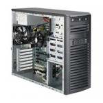 Supermicro SuperServer 5038A-IL, Mid Tower Barebone System, No CPU, No RAM, No HDD