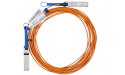Mellanox active fiber cable, VPI, up to 56Gb/s, QSFP, 10m - Part ID: MC220731V-010