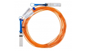 Mellanox active fiber cable, VPI, up to 56Gb/s, QSFP, 50m- Part ID: MC220731V-050